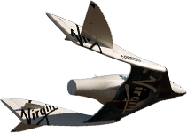 Virgin Galactic Shuttle Full